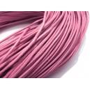 SPN1.5mm-14 - (1 metru) Snur piele naturala roz 1.5mm