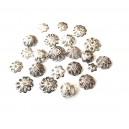 DISPONIBIL 1 SET CU 22 BUCATI - MX504 - Capacele argintii div. marimi