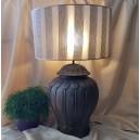 UNICAT - XCER70 - Veioza ceramica maro bronz 52cm/72cm