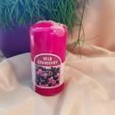 DISPONIBIL 4 BUCATI - Lumanare parfumata stalp afine 11*6cm
