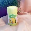 DISPONIBIL 4 BUCATI - Lumanare parfumata stalp pepene 11*6cm