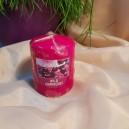 DISPONIBIL 2 BUCATI - Lumanare parfumata stalp afine 7*6cm