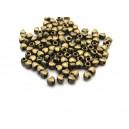 Distantier inimioara bronz antic 4*3.5mm