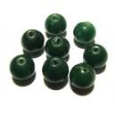 PSE133-06 - Jad verde padure sfere 12mm - FINISAJ INCOMPLET