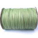 SPOL1.5mm-09 - (1 metru) Snur poliester cerat verde pal 1.5mm