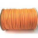 SPOL1.5mm-23 - (1 metru) Snur poliester cerat portocaliu 1.5mm