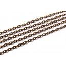 LC02 - (1 metru) Lant cupru 3*2*0.6mm - zale plate