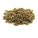 (45 grame) Margele nisip bronz irizat 4mm