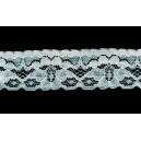 Dantela elastica alba 26mm