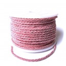 SDR3-4mm-07 - (1 metru) Snur dacron roz 3mm