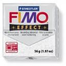 Fimo Effect Glitter white 56 grame - 8020-052
