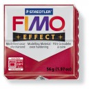 Fimo Effect Metallic ruby red 56 grame - 8020-28