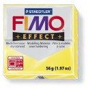 Fimo Effect Translucent yellow 56 grame - 8020-104