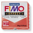 Fimo Effect Translucent red 56 grame - 8020-204