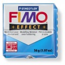 Fimo Effect Translucent blue 56 grame - 8020-374
