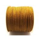 (1 metru) Snur nylon margele Shamballa mustar gold 1mm