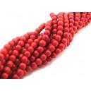Howlit de sinteza rosu sfere 4-5mm