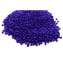 DISPONIBIL 1 PUNGA - MN2mm-12 - (25 grame) Margele nisip albastru cobalt 2mm