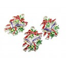 CP283 - Charm emailat clopotei 25*18mm