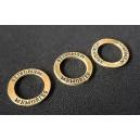 Conector memories inel bronz 23mm