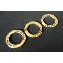 Conector strenght inel bronz cu tenta aurie 23mm