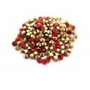 (10 buc.) Strasuri conice cristale rosii 4.2mm