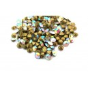 (10 buc.) Strasuri conice cristale talbe cu efect AB 4mm
