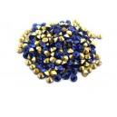(10 buc.) Strasuri conice cristale cobalt 3.6mm