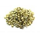 (10 buc.) Strasuri conice cristale galben pal 3.4mm