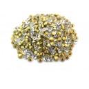(10 buc.) Strasuri conice cristale transparente 3.4mm