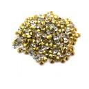 (10 buc.) Strasuri conice cristale transparente 3mm