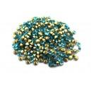 (10 buc.) Strasuri conice cristale turcoaz 2.8mm