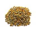 (10 buc.) Strasuri conice cristale portocaliu intens 2.8mm