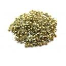 (10 buc.) Strasuri conice cristale galben pal 2.8mm
