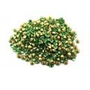 (10 buc.) Strasuri conice cristale verzi 2.2mm