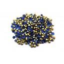 (10 buc.) Strasuri conice cristale cobalt 2.2mm