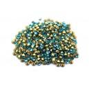 (10 buc.) Strasuri conice cristale turcoaz 2.2mm