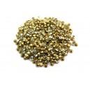 (10 buc.) Strasuri conice cristale galben pal 2.2mm