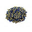 (10 buc.) Strasuri conice cristale cobalt 2mm