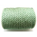 (1 metru) Snur nylon verde pal 5-6mm