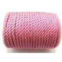 (1 metru) Snur nylon roz 5-6mm