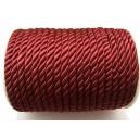 (1 metru) Snur nylon bordo 5-6mm