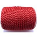 SNY5-6mm-13 - (1 metru) Snur nylon rosu 5-6mm
