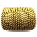(1 metru) Snur nylon mustar gold 5-6mm