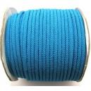 (1 metru) Snur poliester albastru 4mm