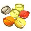 DISPONIBIL 1 SET CU 6 BUCATI - ACR15A - Margele acril diverse culori 28*28mm