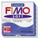 Fimo Soft brilliant blue 56 grame - 8020-33