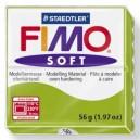 Fimo apple green black 56 grame - 8020-50