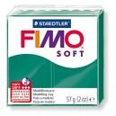 Fimo Soft emerald 56 grame - 8020-56