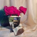 UNICAT - XCER19 - Vas decorativ ceramica colorata 30*14*10.5cm